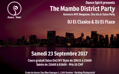 The Mambo District Party – 23.09.2017