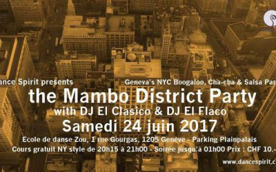 The Mambo District Party – June 24th 2017