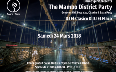 The Mambo District Party – 24.03.2018