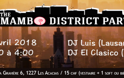 The Mambo District Party – GAPDance Edition – 28.04.2018