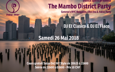 The Mambo District Party – 26.05.2018
