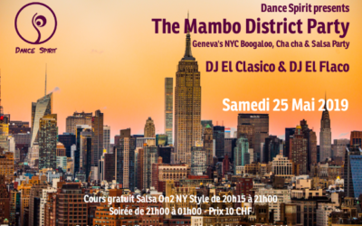The Mambo District Party – 25 Mai 2019