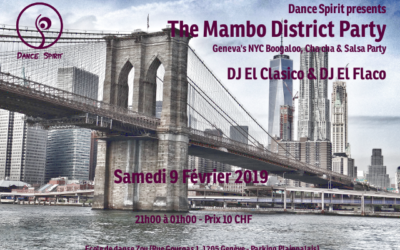 The Mambo District Party – 9 Fév. 2019